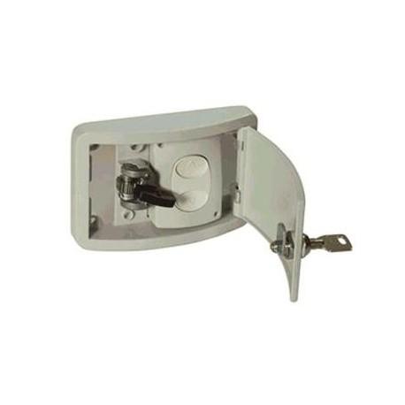 Registro GN con cerradura de seguridad para empotrar